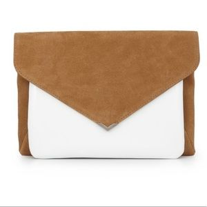 Sam Edelman Bags - Sam Edelman mila 2 in 1 clutch whiskey